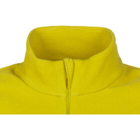 Odlo Roy Midlayer con mezza zip Uomo, sunny lime/citronelle/stripes